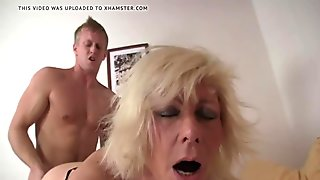 hot mom fucks with a young lover