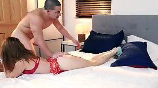 Harley Ann Wolf gets twisted and taken