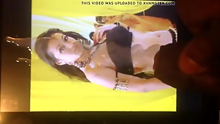 Trisha navel full of cum
