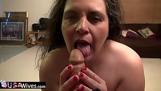 USAwives Mature Charlie Fox Fatty Solo Play